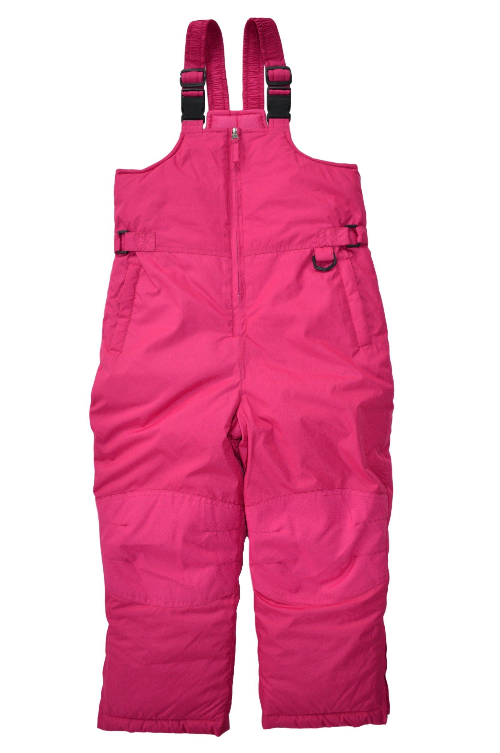 Snowsuits for Kids Girl's Plus Insulated Bib Snow Pants (16-18, Hot Pink)