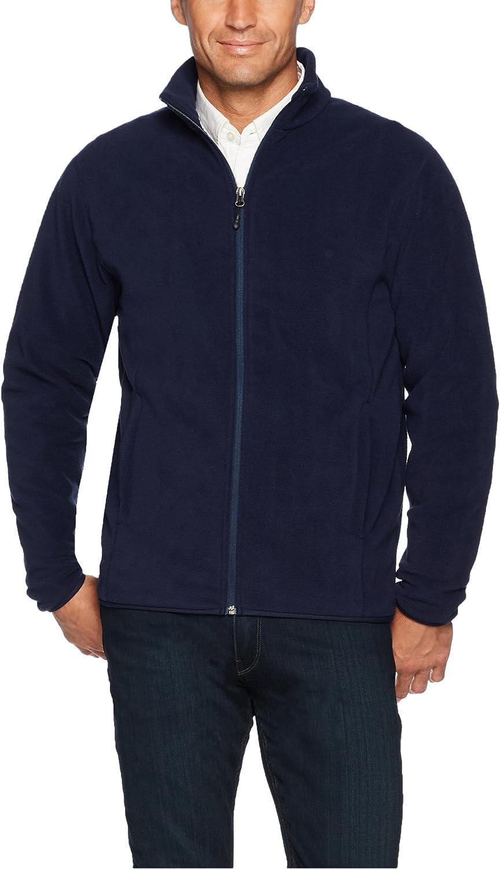 Essentials Men's Full-Zip Polar Fleece Jacket: Clothing