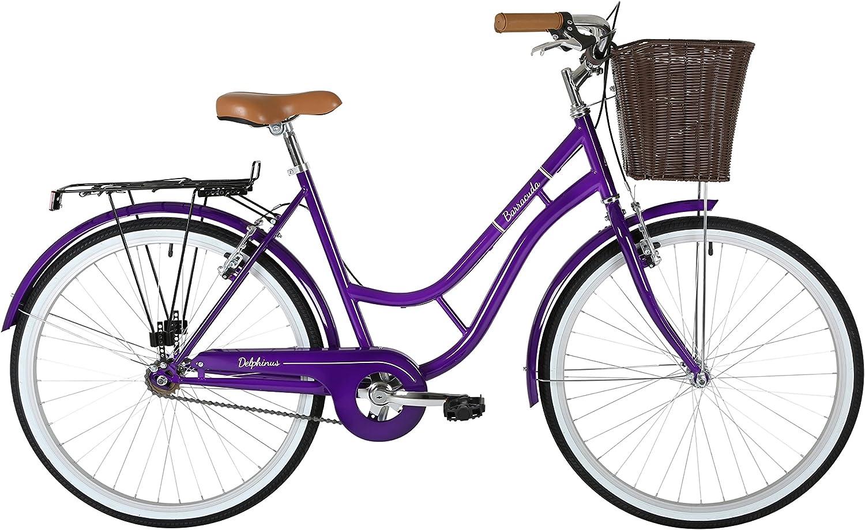 Barracuda Mujer Delphinus Bicicleta, Color Morado, tamaño 19 ...