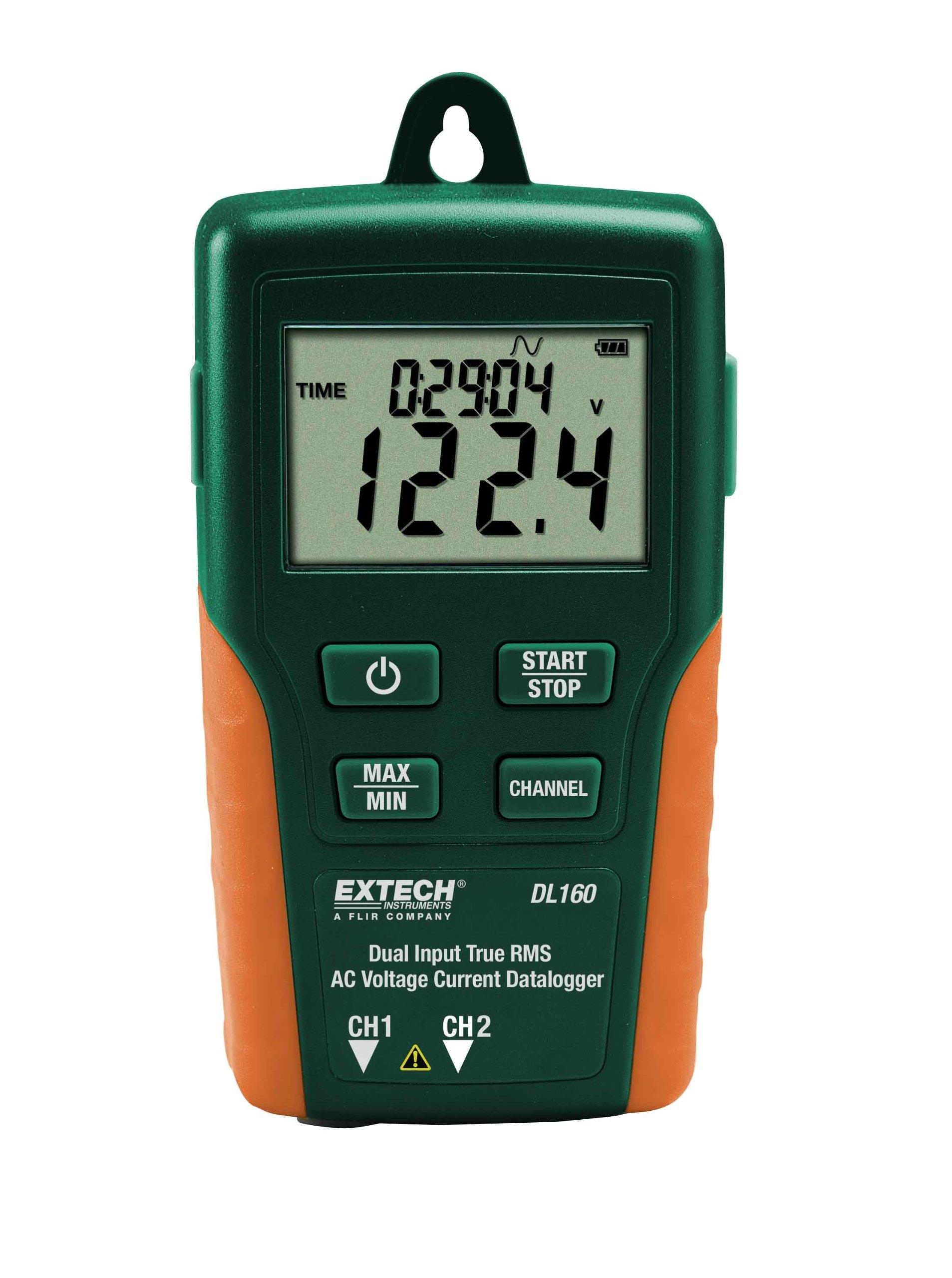 Extech DL160 Dual Input True RMS AC Voltage/Current Datalogger