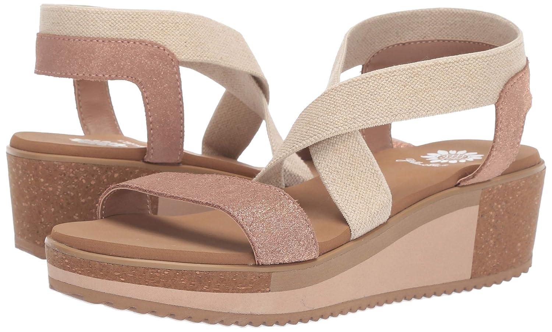 37754a531239 Amazon.com  Yellow Box Women s Janalee Wedge Sandal  Shoes