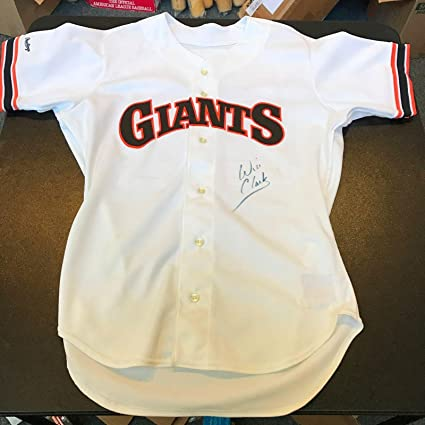 Will Clark Signed Jersey - 1989 Game Model COA - PSA DNA Certified -  Autographed cdad4daee
