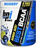 BPI Sports Best BCAA - BCAA Powder - Branched Chain Amino Acids - Muscle Recovery - Muscle Protein Synthesis - Improved Performance – Hydration – Blueberry Lemonade - 30 Servings - 10.58 oz