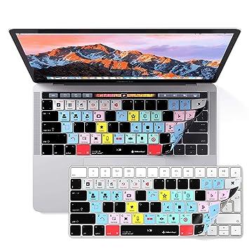 iMovie - Funda de Teclado para MacBook Pro con Barra táctil de 33 y 38 cm: Amazon.es: Electrónica