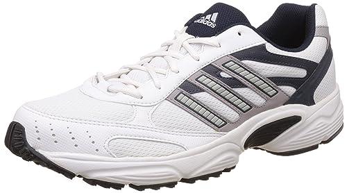 Buy Adidas Men's Aztek White, Cobalt and Dk.Navy Running Shoes ...