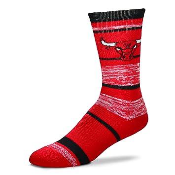NBA CHICAGO BULLS de hombre calcetines (504 RMC rayas): Amazon.es: Deportes y aire libre