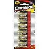 Camelion Plus Alkaline - Blister de 10 Piles alcaline LR06 LR6 AA MIGNON 1.5V