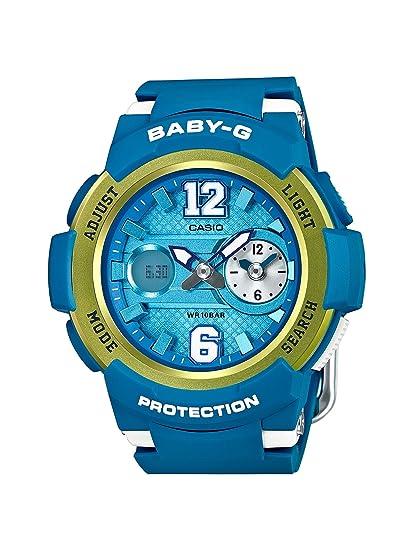 Casio Reloj de Pulsera de Mujer Baby-G analógico y Digital, de Cuarzo, Correa de Resina BGA-210 - 2BER: Amazon.es: Relojes