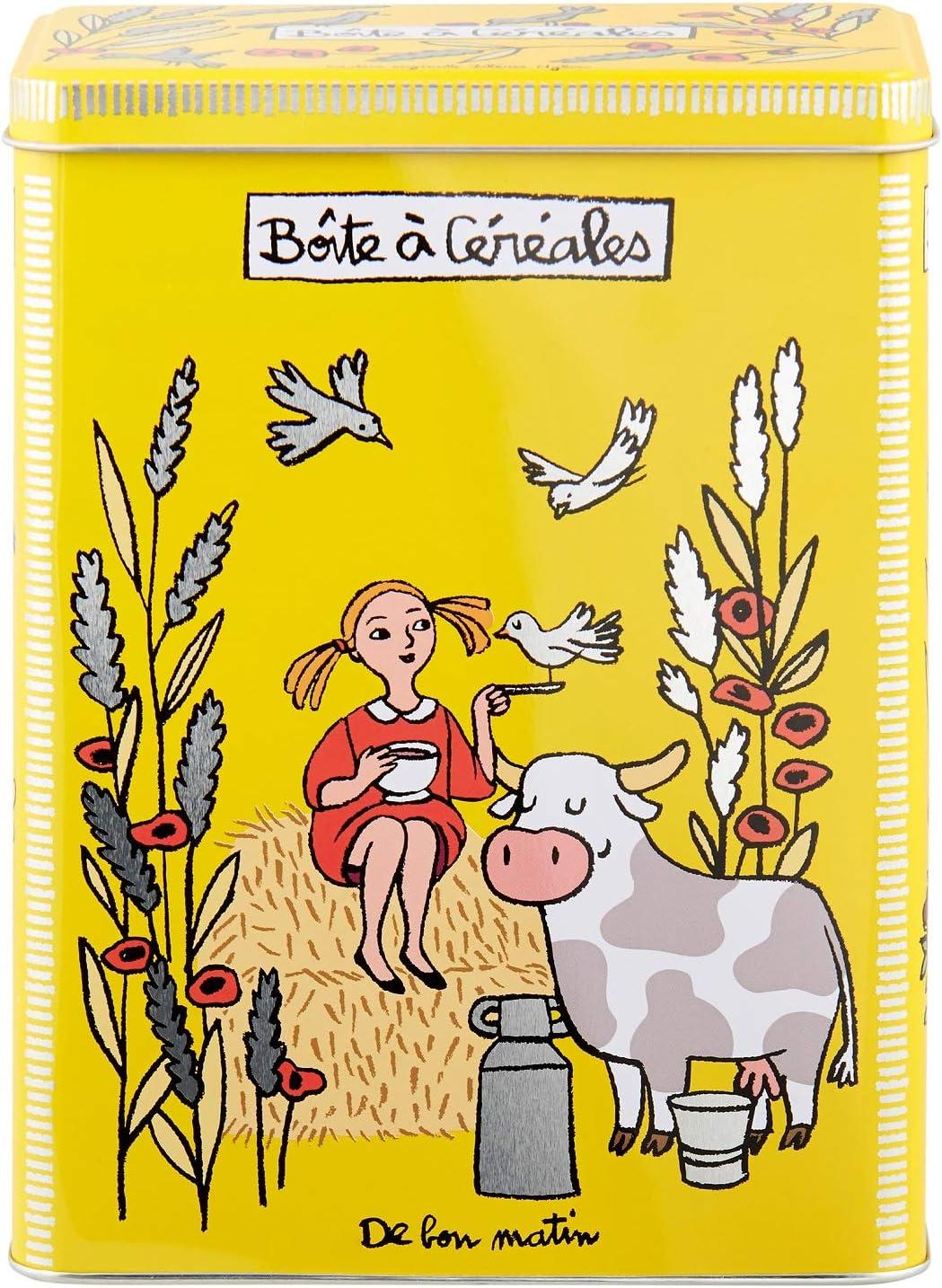 Derrière la porte caja de cereales de Bon Matin: Amazon.es: Hogar