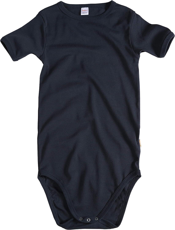 pour gar/çon et fille taille 92-134 wellyou Lot de 2 bodies /à manches courtes pour b/éb/é et enfant 100 /% coton