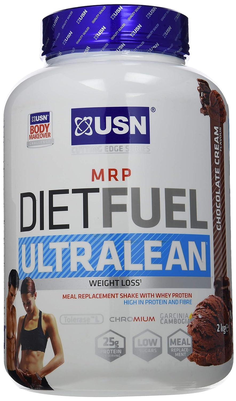 USN Diet Fuel Ultralean Chocolate Cream - 1000 gr: Amazon.es: Salud y cuidado personal