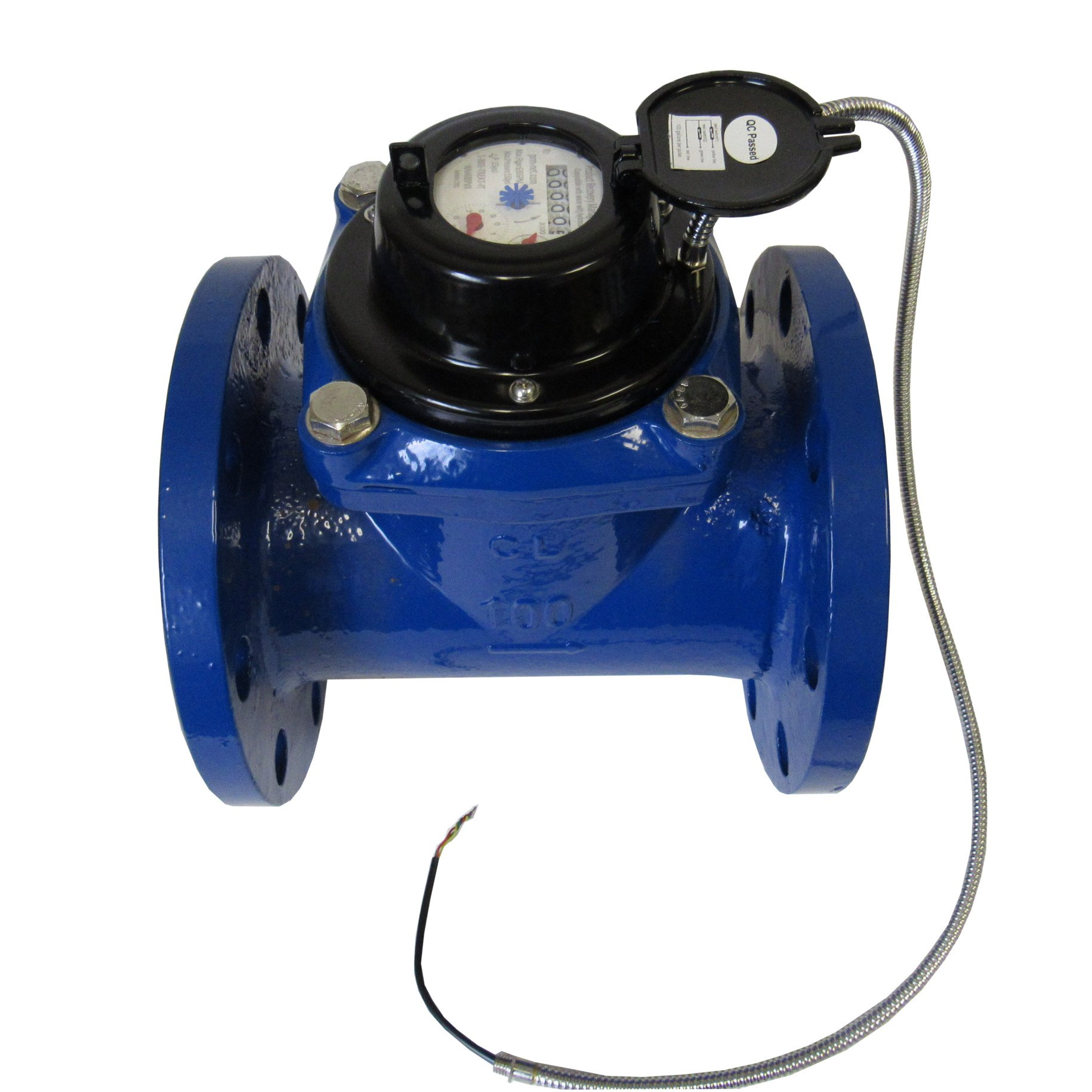 4 INCH FLANGED MULTI-JET WATER METER WITH PULSE OUTPUT - NOT FOR POTABLE WATER