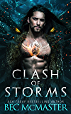 Clash of Storms: Dragon Shifter Romance (Legends of the Storm Book 3)