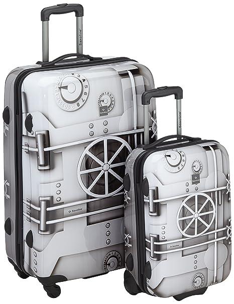 Saxoline Juegos de maletas, 77 cm, 110 L, Gris