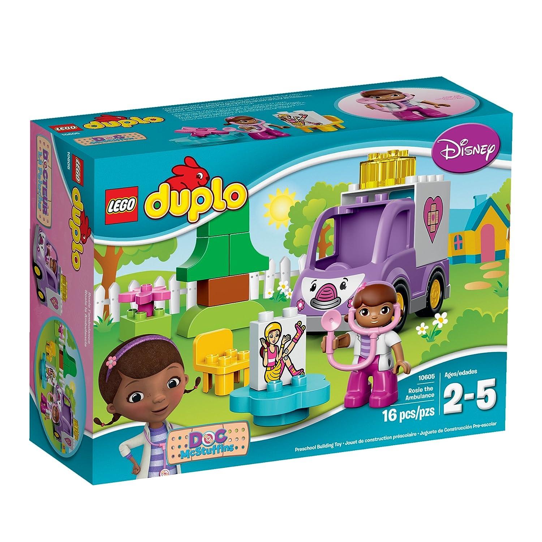 Amazoncom Lego Duplo Brand Disney 10605 Doc Mcstuffins Rosie The