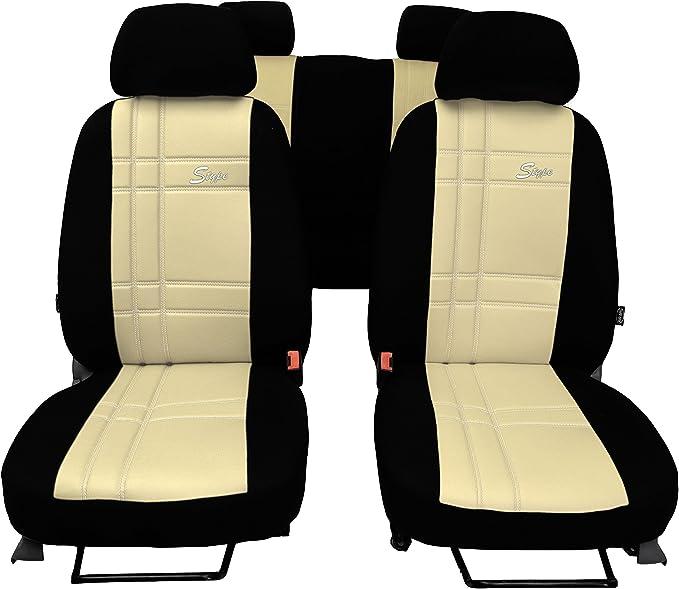 Pokter Alc T5 Multivan 7 Sitzer Maßgefertigte Sitzbezüge S Type Beige Auto