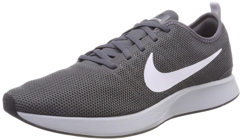 Nike Dualtone Racer, Zapatillas de Gimnasia para Hombre 43 EU|Gris (Dark Grey/White/Black/Pure Pla 017)