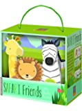 Bendon Publishing Kathy Ireland Safari Friends Blocky Book Box Set