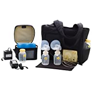 Medela Pump in Style Advanced Double Electric Breast Pump with On the Go Tote, 2-Phase Expression Technology with One-touch Let-down Button, Adjustable Speed and Vacuum