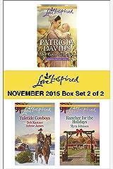 Love Inspired November 2015 - Box Set 2 of 2: An Anthology (Lancaster Courtships) Kindle Edition