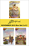 Love Inspired November 2015 - Box Set 2 of 2: The Amish Midwife\The Cowboy's Yuletide Reunion\The Cowboy's Christmas Gift\Rancher for the Holidays (Lancaster Courtships)