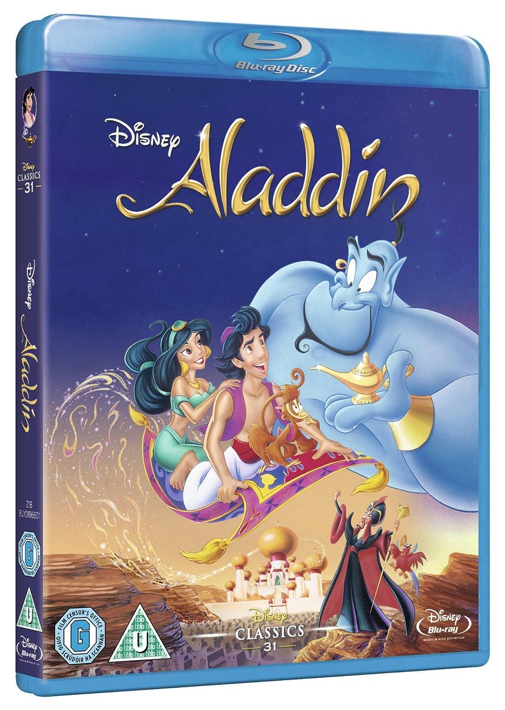 Amazon.com: Aladdin (Limited Edition Artwork Sleeve) [Blu-ray ...