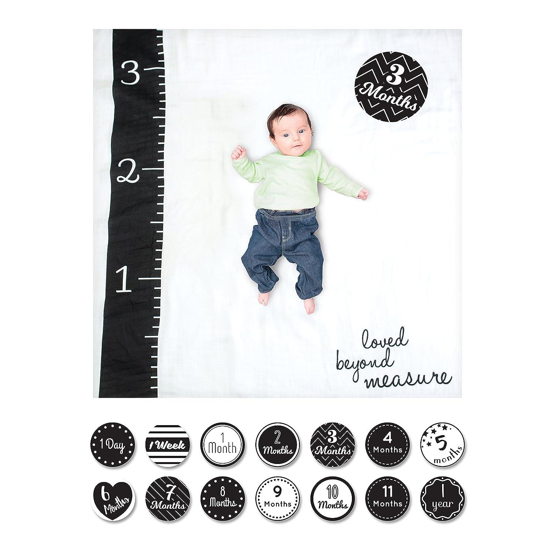 Lulujo Milestone Blanket/Card Set LJ585