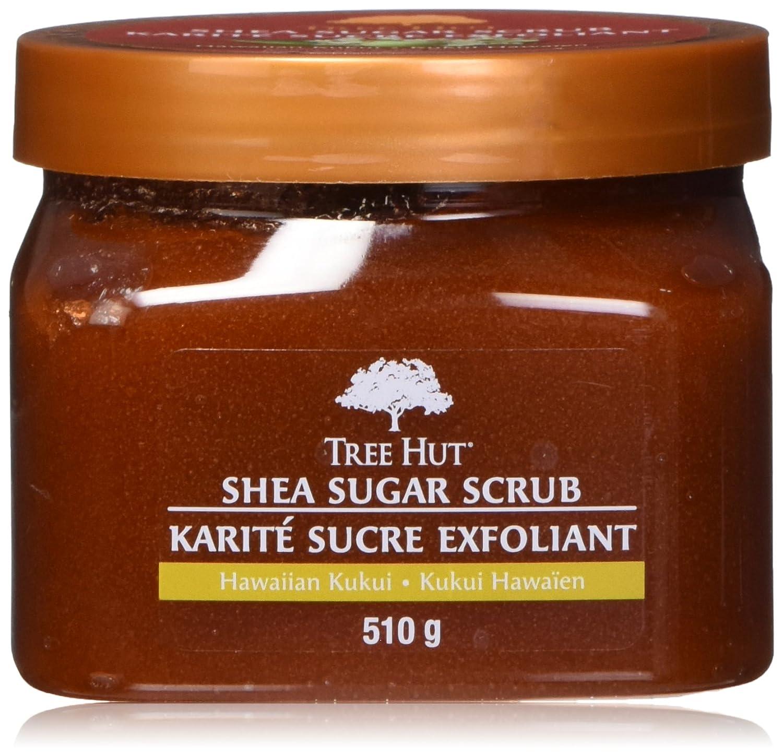 Tree Hut shea sugar scrub - hawaiian kukui, 510 Grams Naterra Interntaitonal Inc.