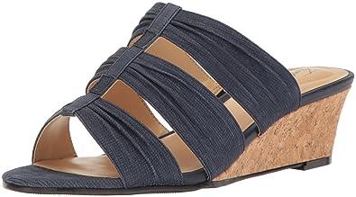 Trotters Mia Slide Wedge Sandal (Women's) bQ8j9