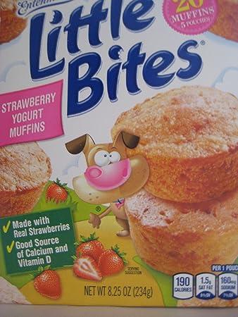recipe: little bites strawberry yogurt muffins [20]