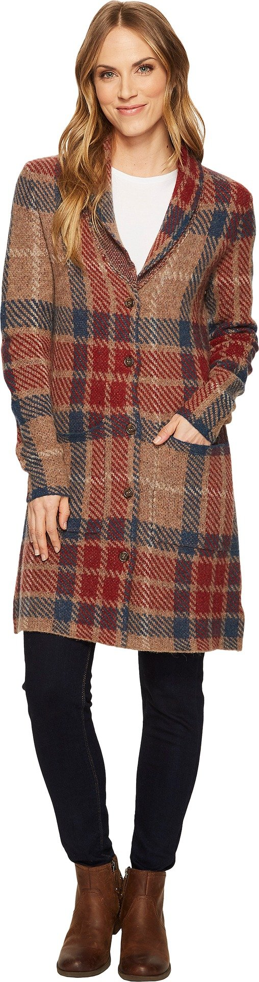 Toad&Co Women's Lennox Cardigan Chai Large by Toad&Co