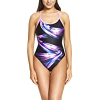 Zoggs Women's Empower Sprintback Eco Fabric One Piece Swimsuit
