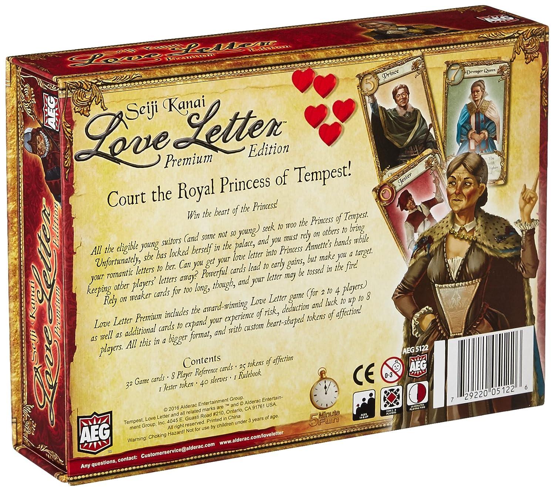 amazoncom love letter premium toys games