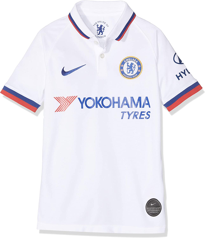 Amazon Com Nike Youth Chelsea 2019 20 Away Jersey White Clothing