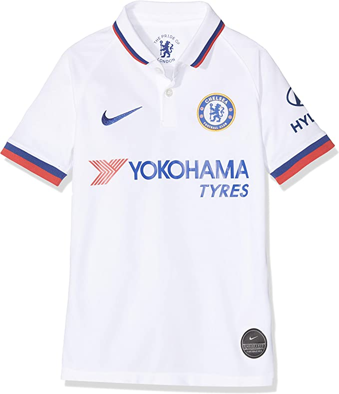 NIKE CFC Y Nk BRT Stad JSY SS AW - Camiseta 2ª equipación Chelsea ...