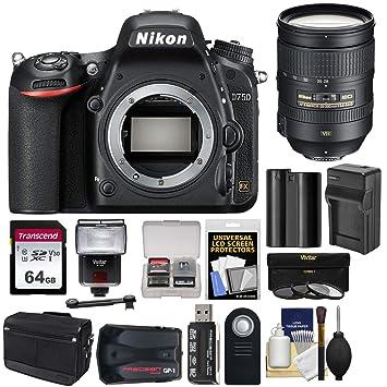 Amazon.com: Cuerpo de la cámara réflex digital Nikon D750 ...