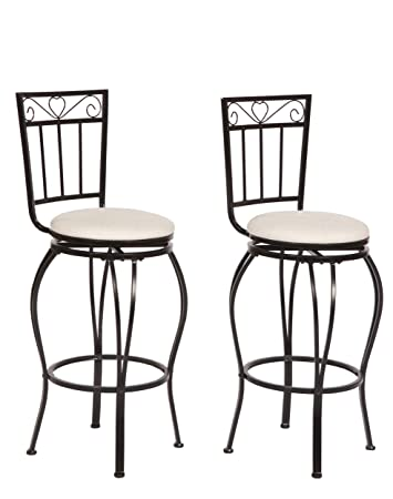 Prime Target Marketing Systems Gabriella Collection Contemporary Upholstered Metal Pub Stools Set Of 2 High Back Black White Spiritservingveterans Wood Chair Design Ideas Spiritservingveteransorg