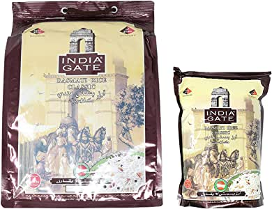INDIA GATE Igc Basmati 5Kg+1Kg (Pack of 1)
