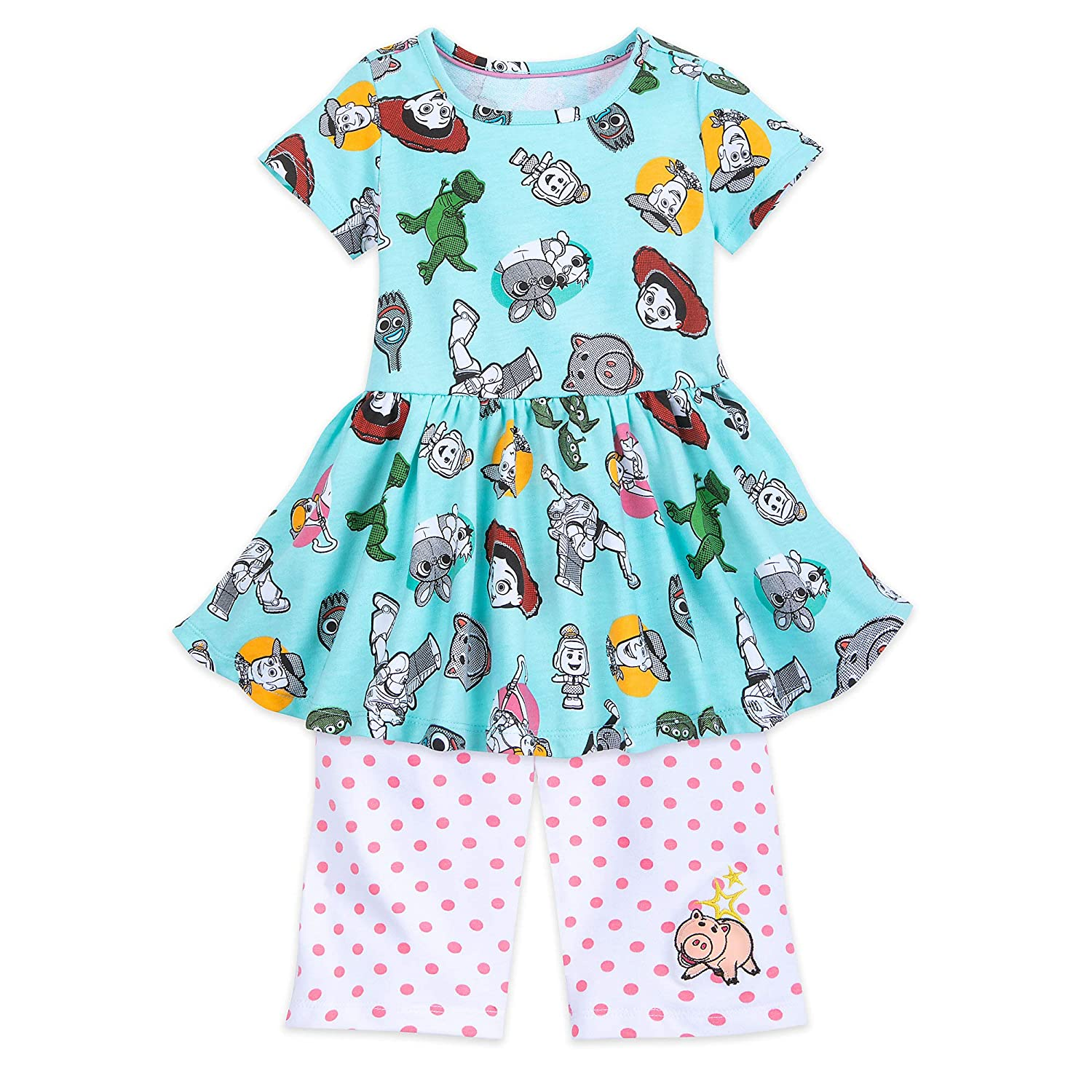 Disney Toy Story 4 Knit Top and Shorts Set for Girls Multi
