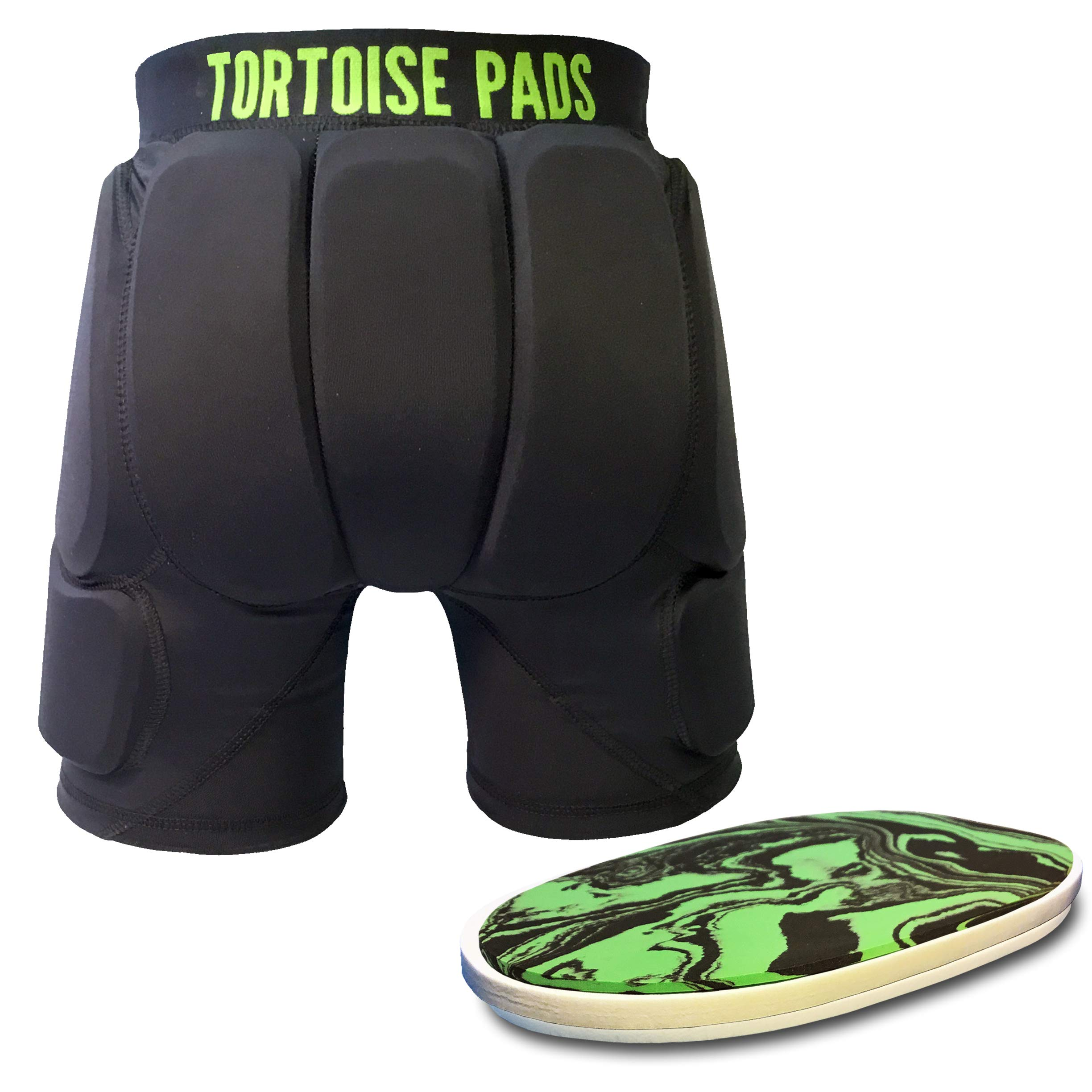 Tortoise Pads T2 High Impact Protection Padded Shorts with Dual Density EVA Foam (Adult XX-Large)