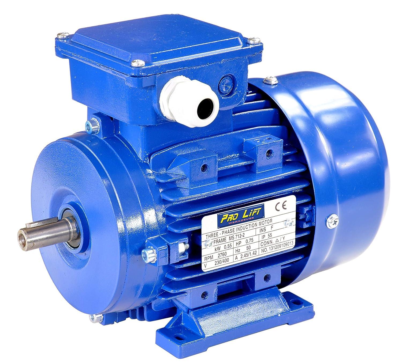 Normmotor 0,09 kW 3000 U//min B3 Elektromotor Drehstrommotor