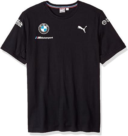 PUMA Mens BMW M Motorsport M Team T-Shirt, Anthracite, M