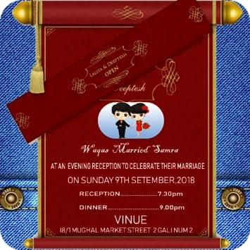 Wedding Invitation Card Maker 2018