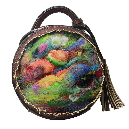 Ysting Encantador colorido de moda hecha a mano fieltro ...