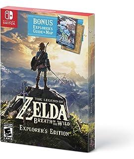Amazon com: The Legend of Zelda: Breath of the Wild - Nintendo