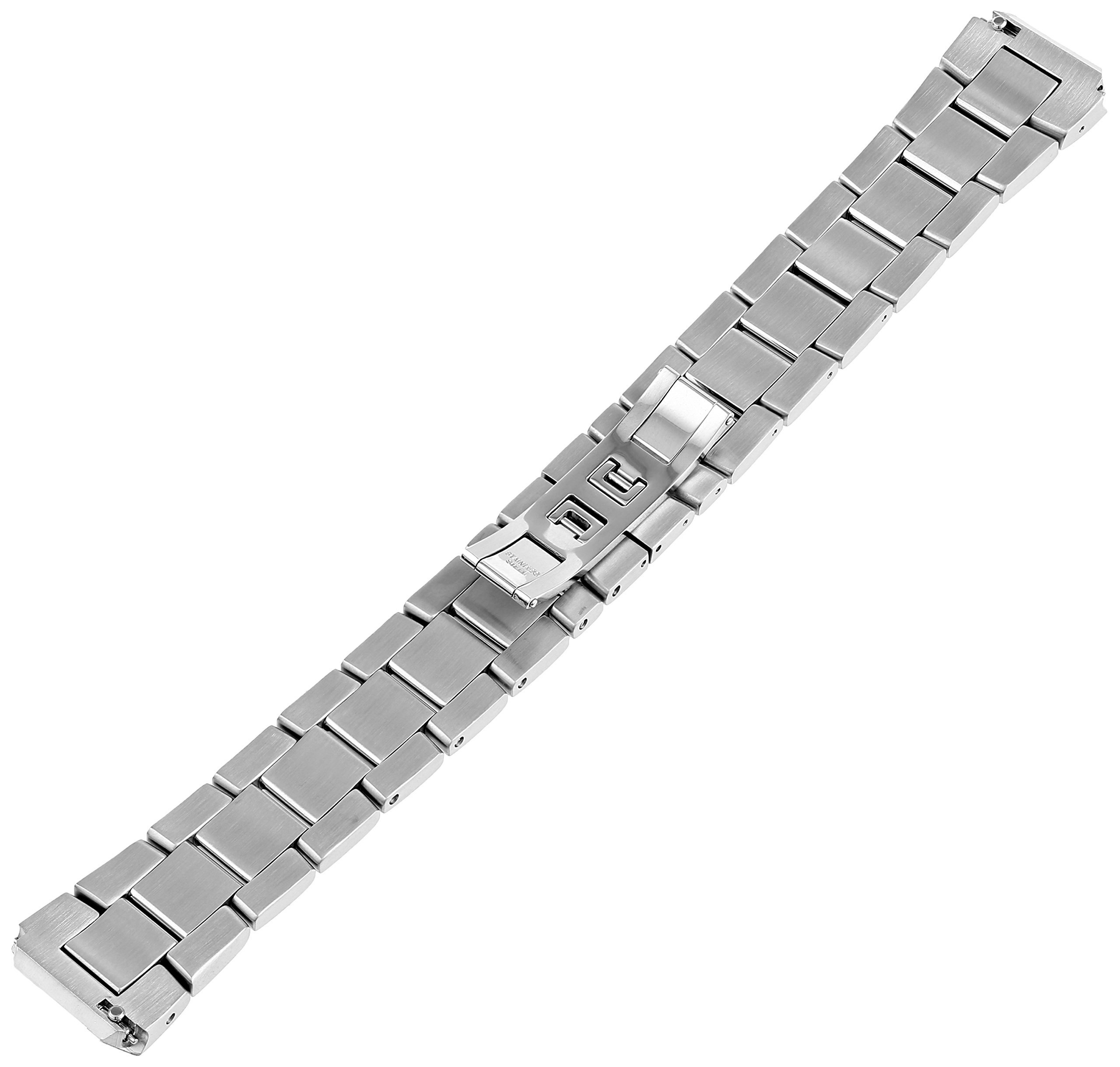 Philip Stein 2-SS 20mm Stainless Steel Silver-Tone Watch Bracelet by Philip Stein (Image #2)