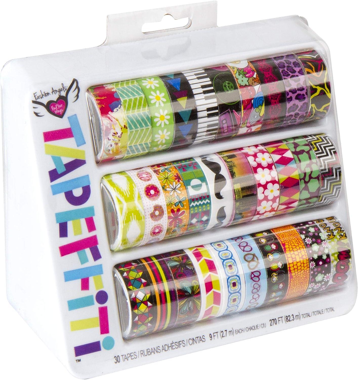 Amazon Com Fashion Angels Tapeffiti 30 Piece Full Decorative Tape Caddy Toys Games