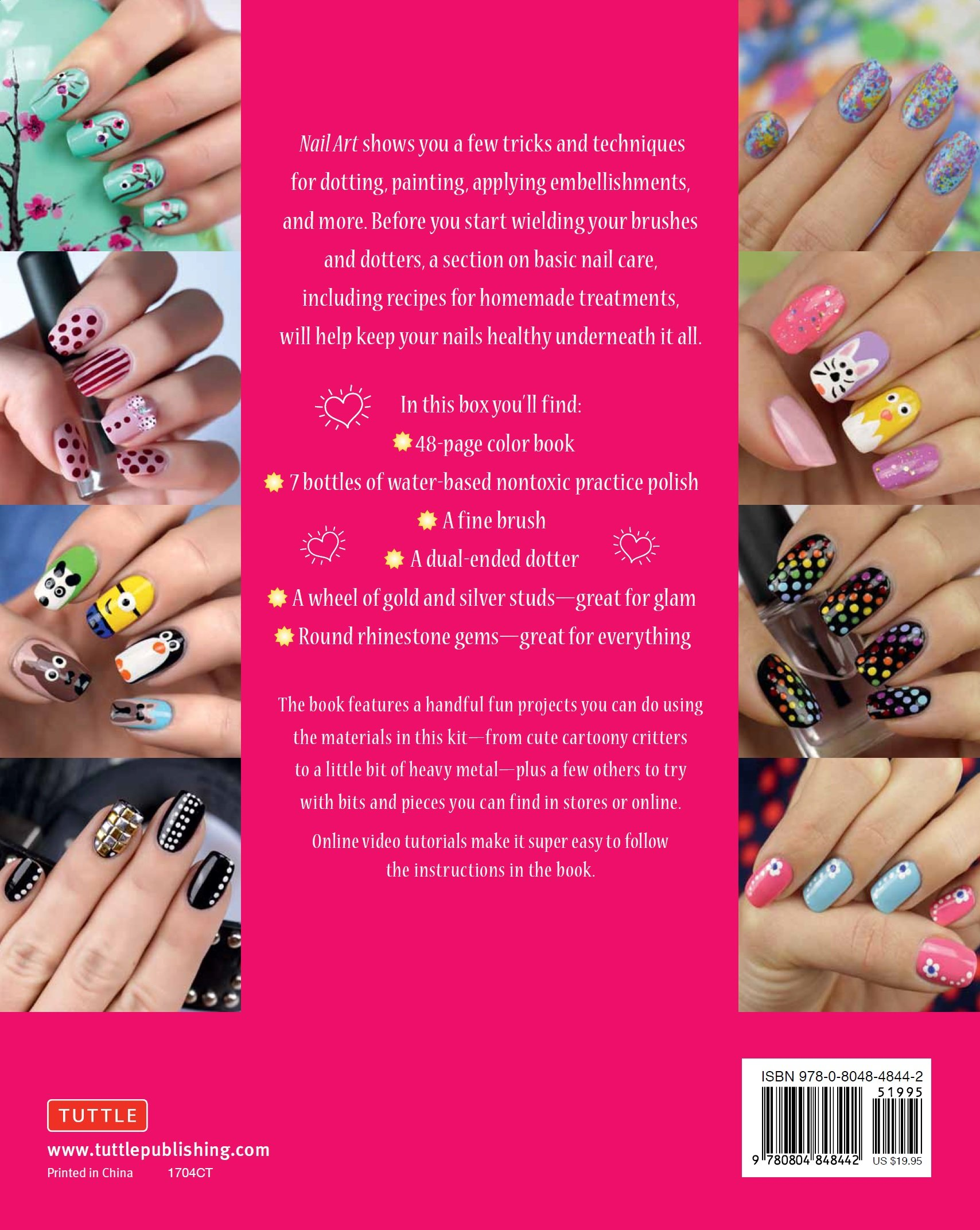 Nail Art Kit The Easy Way To Creative Nails LaLilliMakeup Stefano Manzoni 9780804848442 Amazon Books