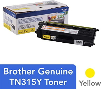 3,500 Yield Brother TN315Y Yellow Original Toner High Yield