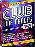 Club Line Dances 1 & 2: Beginner Lessons - Learn to dance the Wobble, Electric Slide, Cha-Cha Slide, Two-Step Line Dance, Cupid Shuffle, Cotton Eyed Joe, Footloose & Tush Push